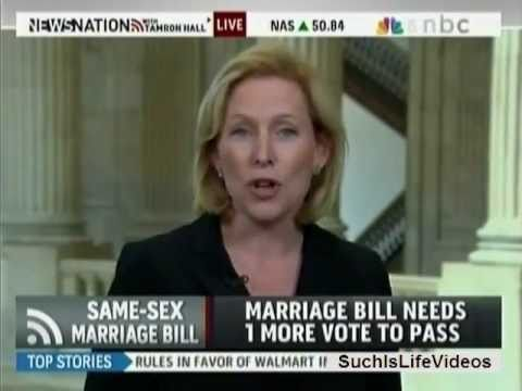 MSNBC - Sen. Kirsten Gillibrand Pushes For Marriage Equality In New York