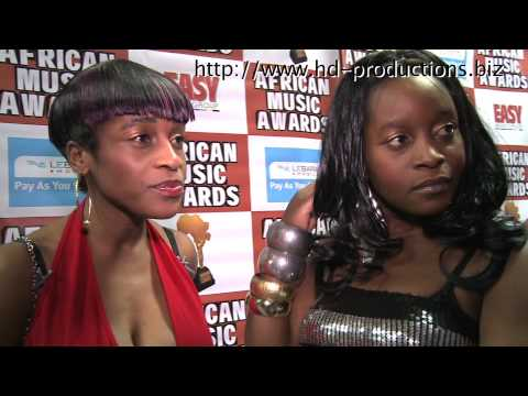 African Music Awards 2009 Video Interviews HD Entertainment News(unedited)