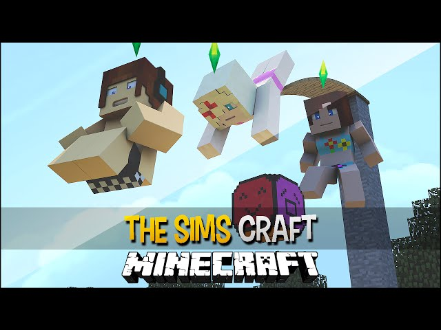 The Sims Craft Ep.62 - Piscina com Trampolim !!