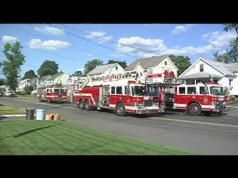 Firefighters controlled a basement fire in Chicopee