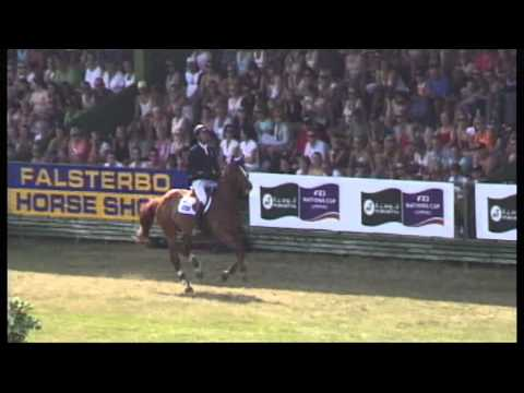 Luca Maria Moneta with JESUS DE LA COMMUNE - Derby - Falsterbo Horse Show 2013