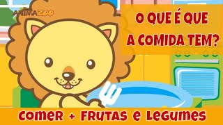 Canções Infantis - Animazoo - O que é que a comida tem?