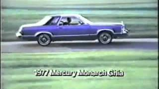 1977 mercury monarch commercial