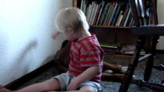 Four year old with Down Syndrome talking
