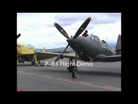 KING COBRA P-63 AEROBATIC FLIGHT DEMO