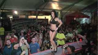 Lost Bikini Contest from Bike Week 2012