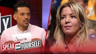 Matt Barnes explains why Jeanie Buss is at fault for Lakers dysfunction | NBA | SPEAK FOR YOURSELF