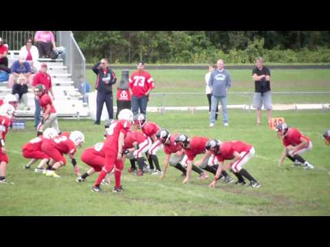 ORYF BULLDOGS VS PORTSMOUTH PATRIOTS JR MIDGETS 2012