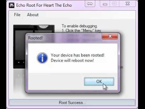 Kyocera Echo Root Tool