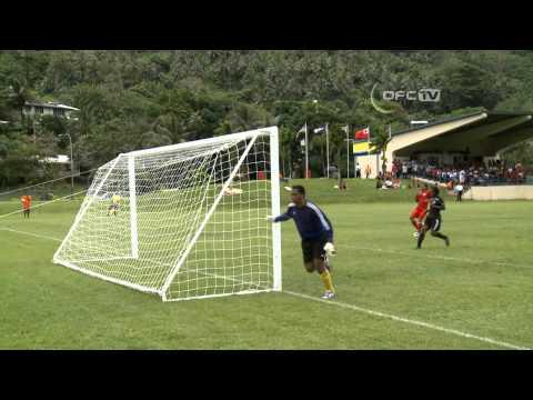 2013 OFC Champions League Preliminary MD1 Lotohaapai United vs Tupapa Maraerenga FC Highlights