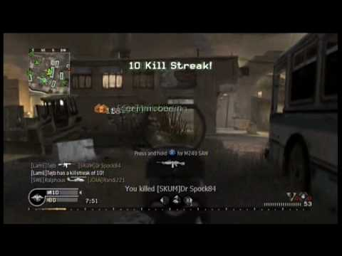 Call Of Duty 4 - I Love My Team 2 Commentary Flawless M4