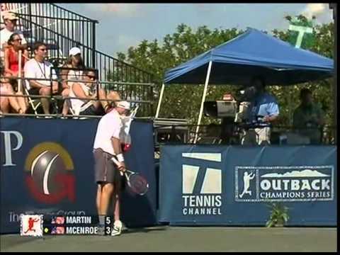 Todd Martin vs McEnroe Final - Champions Cup