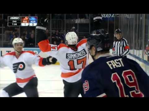 Flyers @ Rangers Highlights 11/28/15