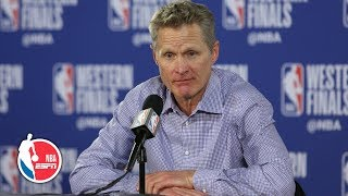 Steve Kerr on Draymond Green after Game 4: He's 'a big game player' | 2019 NBA Playoffs