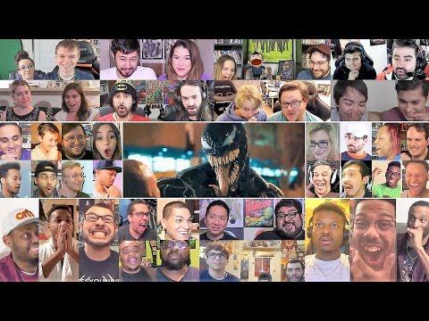 VENOM Official Trailer Reaction Mashup
