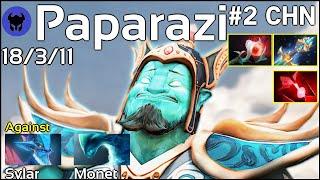 VG.Paparazi plays Storm Spirit!!! Dota 2 7.19