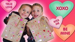 Twins Valentine Haul || Kindergarten Tales