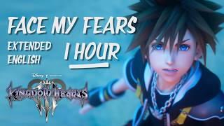 Hikaru Utada Skrillex Face My Fears English Extended Kingdom Hearts Ⅲ 1hour