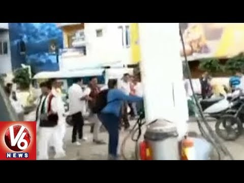 Congress Leaders Variety Protest Against Petrol Price Hike | Ludhiana | V6 News