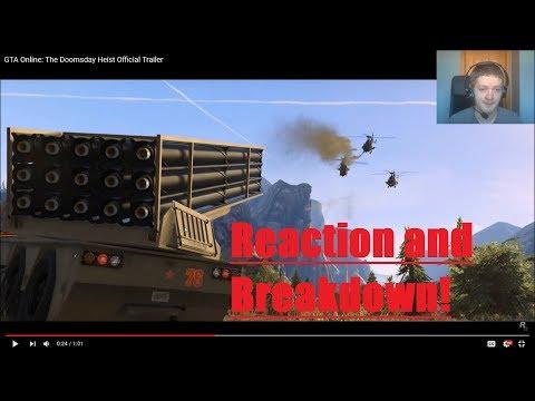 GTA Doomsday Heist Reaction and Breakdown