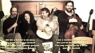 Ikh bin e meidel in de Joren performed by Carla Moraga and the Camara Klezmer Trio
