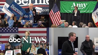 Candidates jostle for position 2 weeks before Iowa caucuses