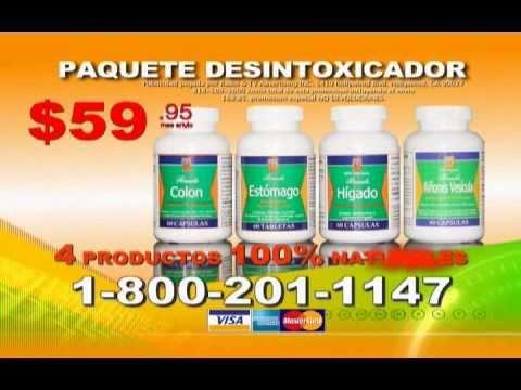 Paquete Desintoxicador COMO LO VIO EN LA TV por NutriProductos