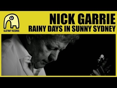 Thumbnail of video NICK GARRIE - Rainy Days In Sunny Sydney