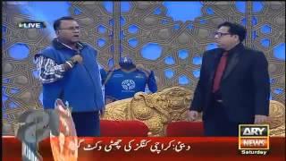 Intensive Fight Between Umer Sharif  Basit Ali Over Karachi Kings Poor Performance