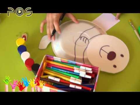 کاردستی جرثقیل کاردستی کودک / کاغذ رنگی