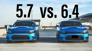 How much faster is the 6.4 vs 5.7?| SCATPACK 392 vs. RT 5.7|