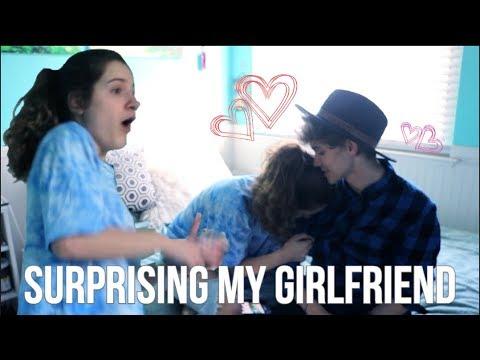 Surprising My Long Distance Girlfriend | Gabriel And Kayce