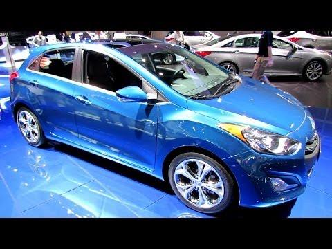 2014 Hyundai Elantra GT - Exterior and Interior Walkaround - 2013 LA Auto Show