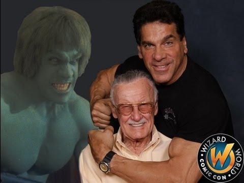 Lou Ferrigno Lifetime Achievement Award from Stan Lee