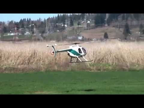 MD500E Turbine RC Jet Copter
