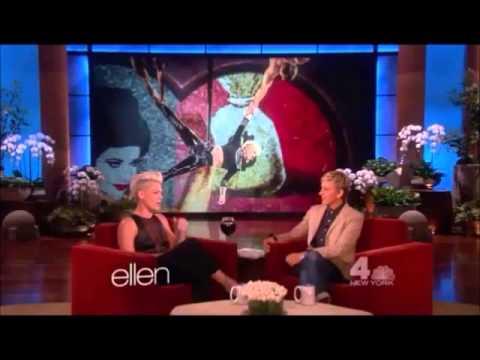 P!nk on The Ellen Show (2013)