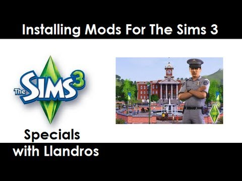 Installing Mods for The Sims 3