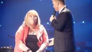 """Gary Barlow - SISYL Tour """"A Million Love Songs"""" (Fan on Stage) - Belfast - 29/03/14"""