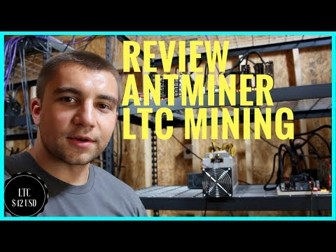 Bitmain Antminer L3+ Initial Review - Scrypt Miner LTC Mining