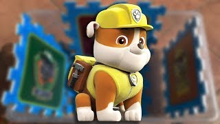 Learn Characters with Chase, Rubble, Zuma and Skye in Learning colours for kids