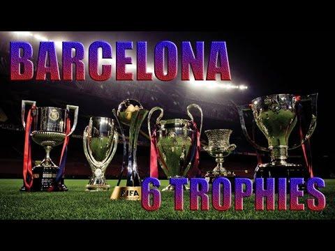 Barcelona 6 of 6 trophies. 2009 year.    Барселона 6 из 6 трофеев. 2009 год.