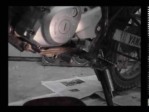 Cambio de aceite en XTZ 125