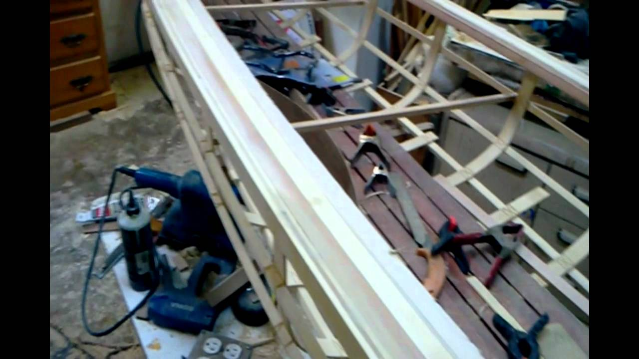 Canoe Building Course in