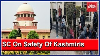Ensure Safety Of Kashmiri Students : SC Asks Home Ministry And State Govts
