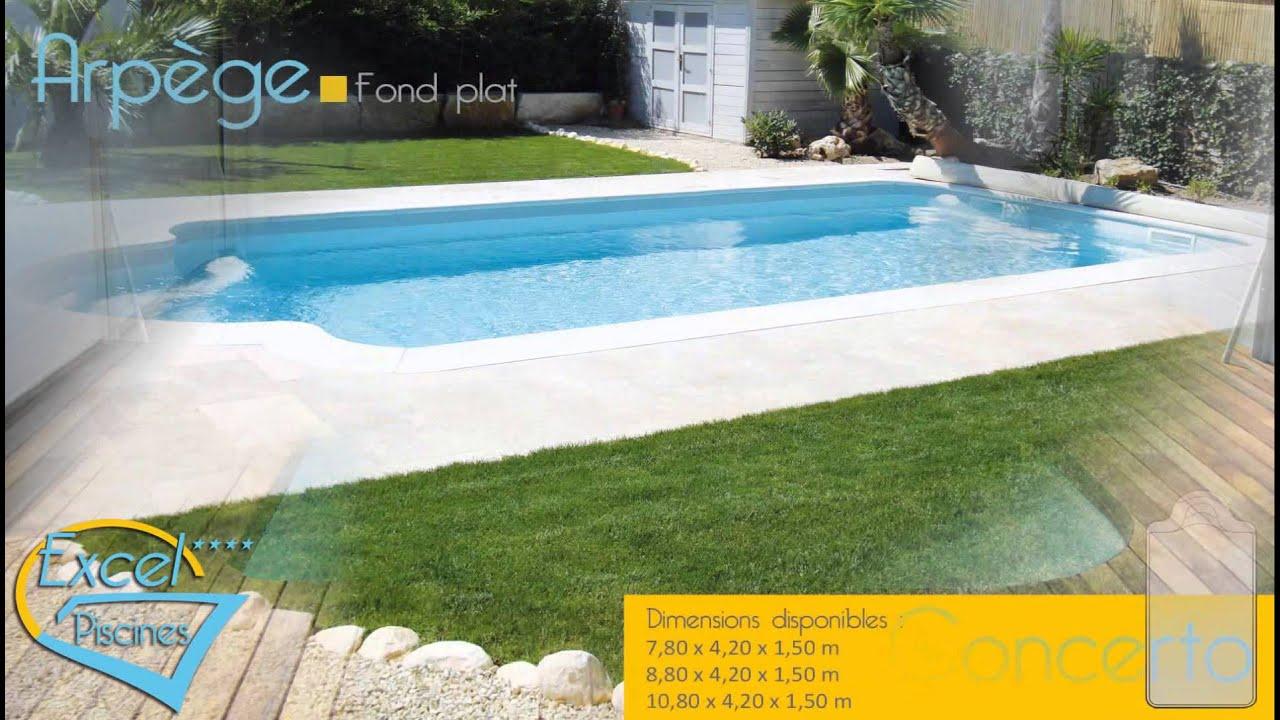 Pr sentation excel piscines fabricant fran ais coque for Piscine fabricant