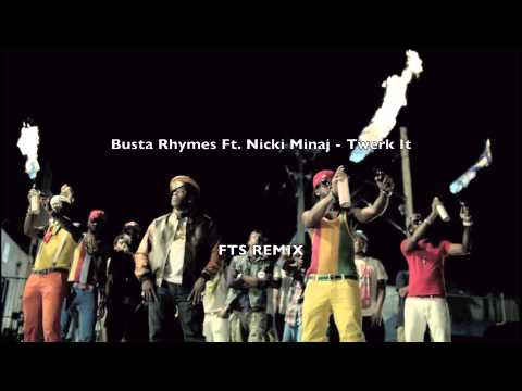 Busta Rhymes   Twerk It Feat. Nicki Minaj (DJ Freakiii Belgrade Trap Mix) picture