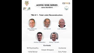 AOMSI Web Series - Season #3 : TMJ # 1 - Total Joint Reconstruction.