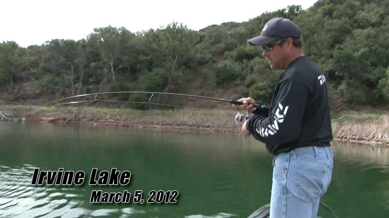 Irvine lake bass fishing march 5 youtube for Irvine lake fishing