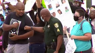 'We are listening;' Central Florida law enforcement officers heartbroken by George Floyd's death