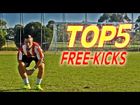 TOP 5 FREE KICKS OF THE WEEK #89 | 2015